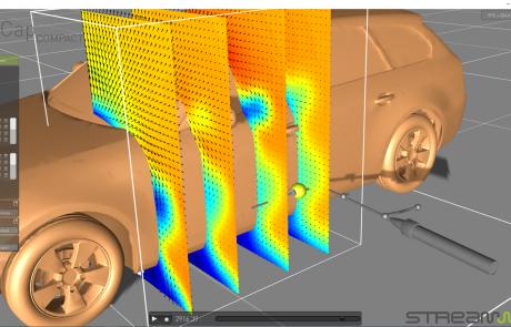 ProCap - flow around car