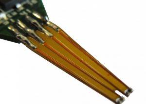 Micro-CTA flex-sensor element